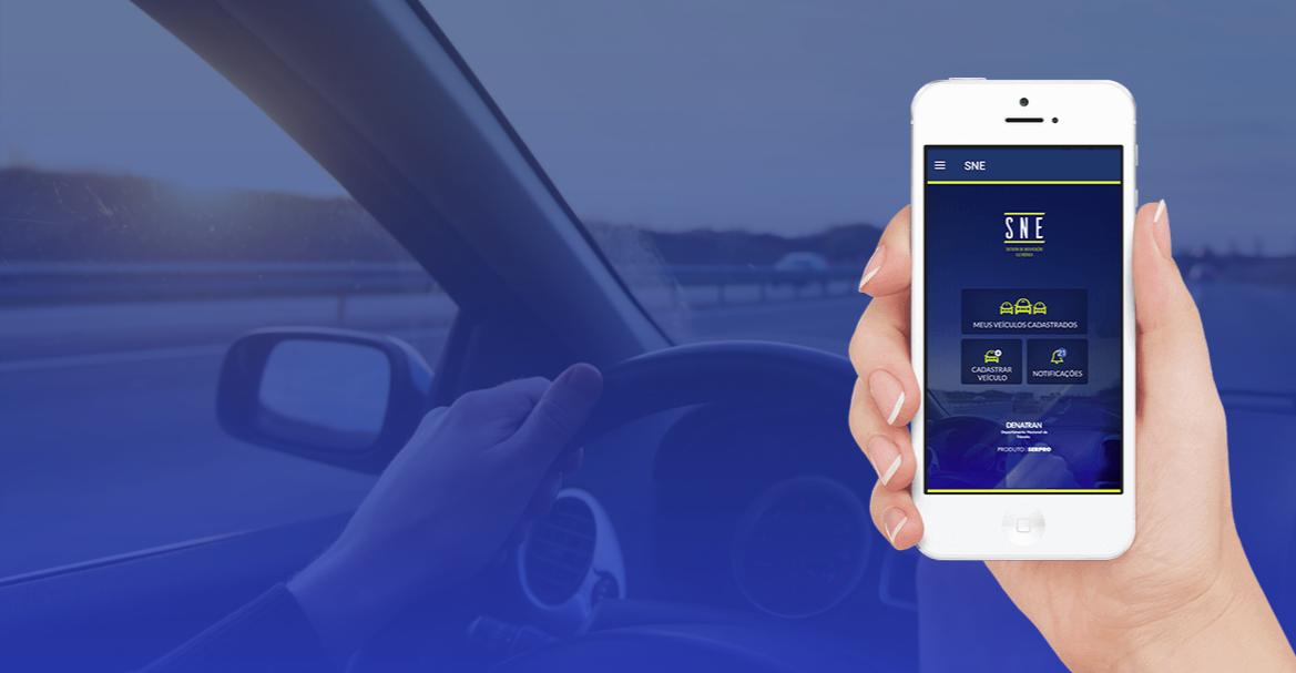 Multas de trânsito SNE app