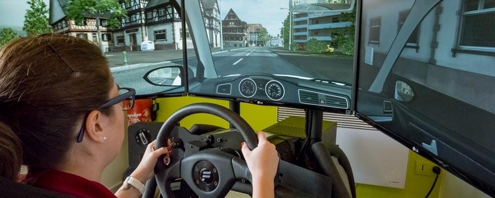 CNH simulador de direção