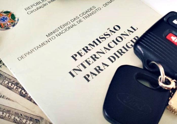 Carteira de motorista internacional PID