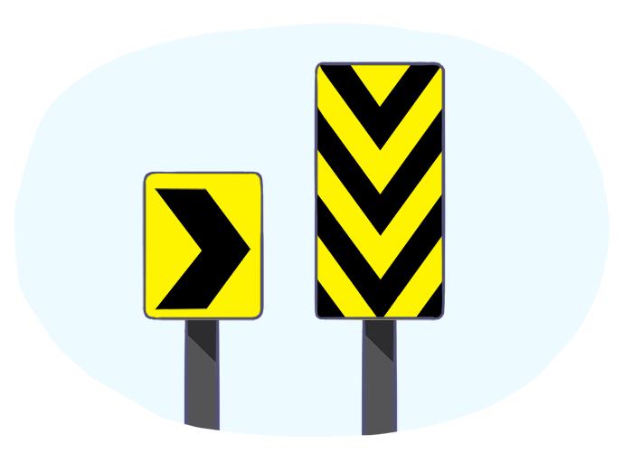 Dispositivos de sinalização de alerta (DSA)