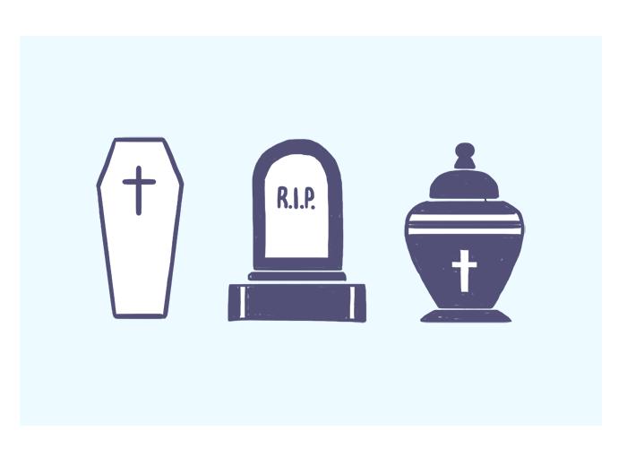 Morte, para os familiares e beneficiários da vítima.