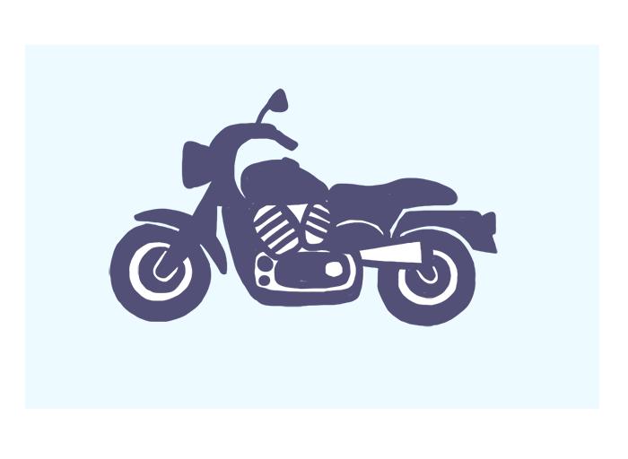 Para motocicletas, motonetas e triciclos