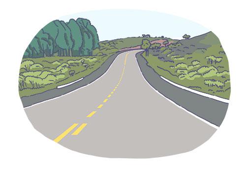 Vias rurais