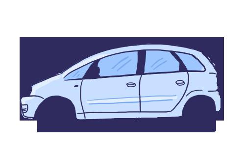 Carros utilizam o trânsito