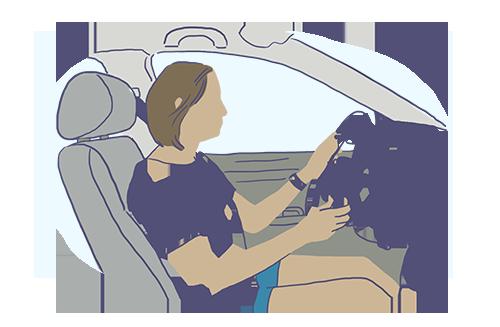 Curso prático de direção e exame prático de direção