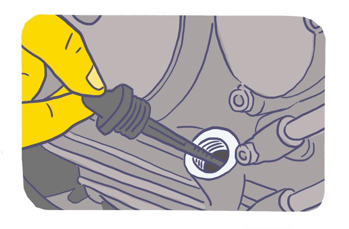 Como lubrificar uma motocicleta?